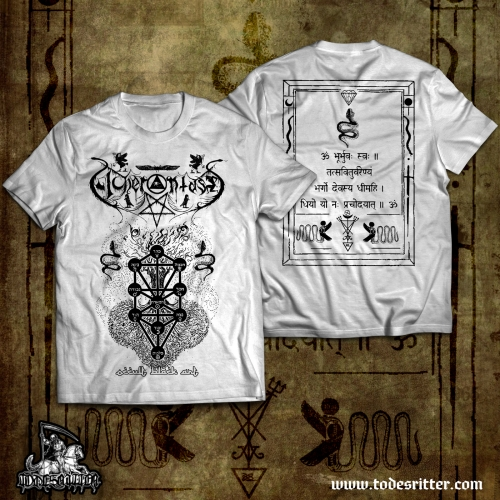 Acherontas – Occult Black Art, White - T-SHIRT_SALE!!!