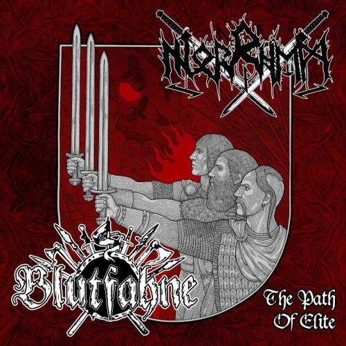 "BLUTFAHNE / NORRHEM - ""The Path of Elite"", Digipack CD"